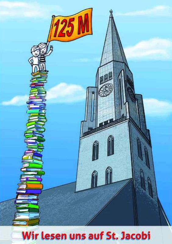 Jacobi Bücherturm